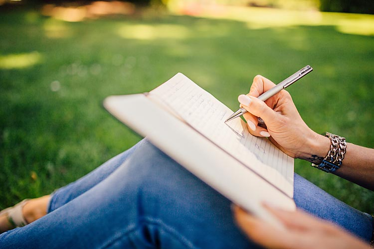 Start a gratitude journal to help build resilience