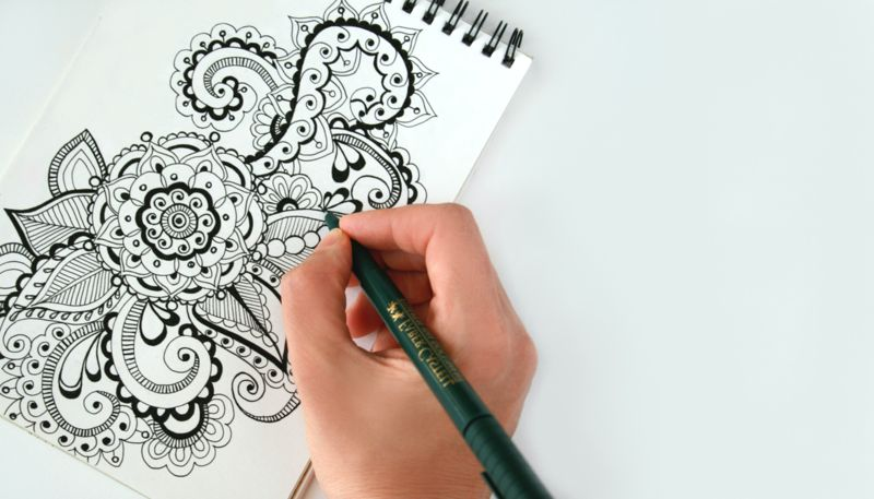 Finding a creative outlet can help fill your cup as a DV advocate copy