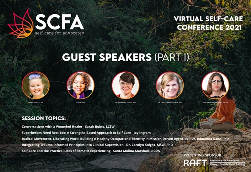 SCFA Virtual Conference 2021